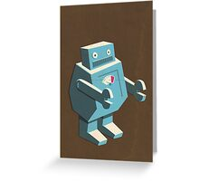 Roboto Greeting Card