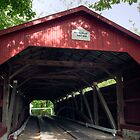 Oldest American Covered Bridge, The Rishel by Gene Walls