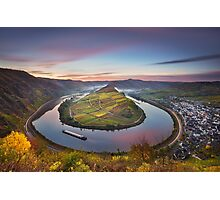 Mosel Bend Photographic Print