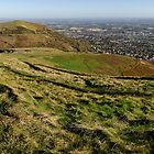 Panorama of North Hill by Mike Church