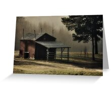 Country Morning, Franklin County, NC Greeting Card