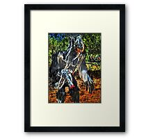 I HATE rain!!! Framed Print