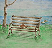 Bench by thuraya o