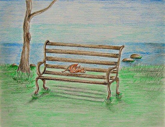 Bench by thuraya o