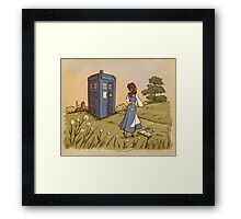 Adventure in the Great, Wide Somewhere Framed Print