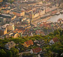 Bergen Harbour, Norway 2012 by YorkStCreative
