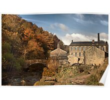 Old Mill. Poster