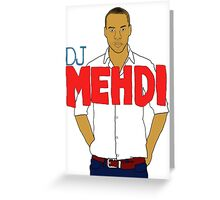 DJ Mehdi - T-Shirt Greeting Card