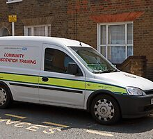London Ambulance Service Community Resuscitation Vehicle by Keith Larby