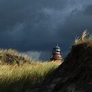 Lighthouse behind the Dunes by karina5