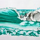 turquoise break by Hannah Clair Phillips