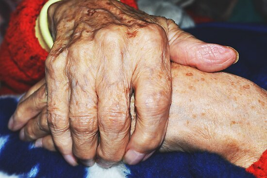92 year old hands by DearMsWildOne