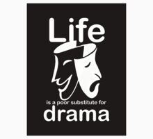 Drama v Life - Sticker by Ron Marton