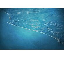 Land And Water Photographic Print