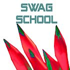 Swag School white by EducatedTruth