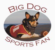 Big Dog Sports Fan Kids Clothes