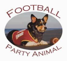 Football Party Animal Kids Clothes