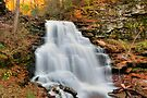 Another Wonderful Fall at Erie Falls by Gene Walls