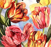 Tulips by Anna  Yudina