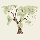 Earth Tree (Fauna) by BelleFlores