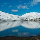 Alpine Lake NZ by johngs