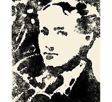 144 Portraits of Baudelaire: fleurs du mal-e 006 by falk nordmann