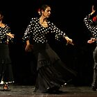 Toca Flamenco Black Triple by bedoubleyou