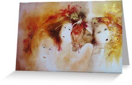 soiled doves  * special order prints: tokikoandersonart@gmail.com by TokikoAnderson