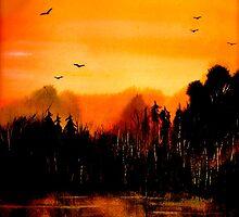 Copper Sky... by © Janis Zroback
