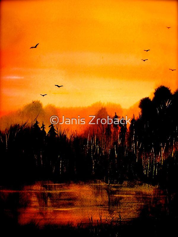 Copper Sky... by ©Janis Zroback