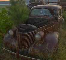 Rusty Pontiac Coupe by Mark Van Scyoc
