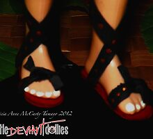 Elf feet by deviantdolls