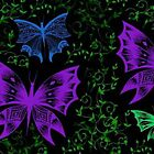 Forest Butterflies by FedericoArts