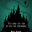 Disney Princess Castle Quote by tttechnicolors