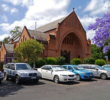 Christ Church Cathedral, Grafton, NSW, Australia by Margaret  Hyde