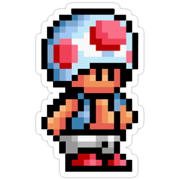 16-Bit Toad by impulsiVdesigns