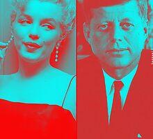 JFK x MARILYN MONROE by Gargant