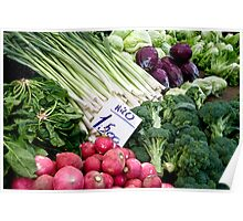 Fresh Vegetables Poster