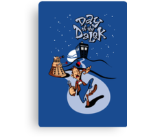 Day of the Dalek Canvas Print