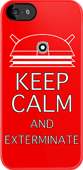 keep calm and exterminate red by Darren Peet