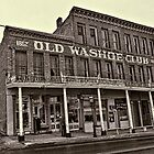 Old Washoe Club 1862 by Brenton Cooper