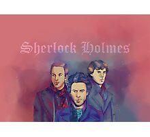 3 Sherlock Photographic Print