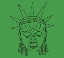 Statue of Liberty--Weeping Angel by PotionOwl203