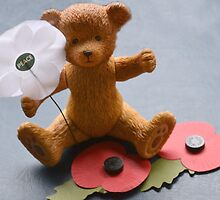 Remembrance  Bear by lynn carter
