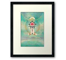 Divine Offering (Anjali Mudra) Framed Print