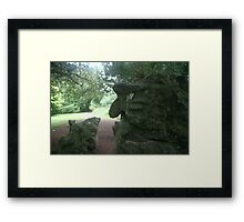 The Watching Witch Framed Print