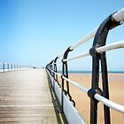 Saltburn Pier railings by Phillip Shannon