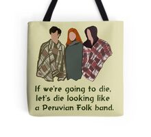 Peruvian Folk Band Tote Bag