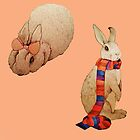 Two Bunnies by Alice Prior