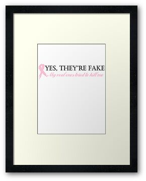 Yes, they're fake... by TinaGraphics
